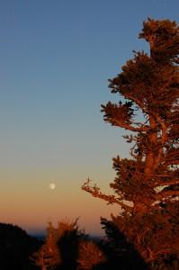 Blowing Rock: Sunset
