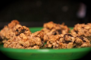 {Recipe} Oatmeal-Flax Cookies