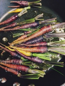{Recipe} Honey-Glazed Rainbow Carrots
